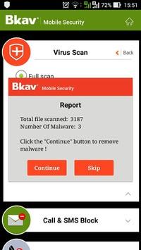 Bkav Security - Antivirus Free APK screenshot 1