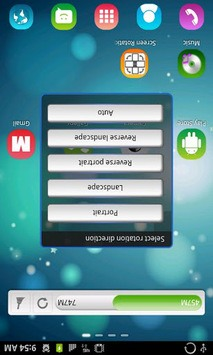 Screen Rotation Control APK screenshot 1