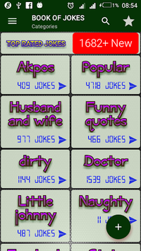 Book Of Jokes APK screenshot 1