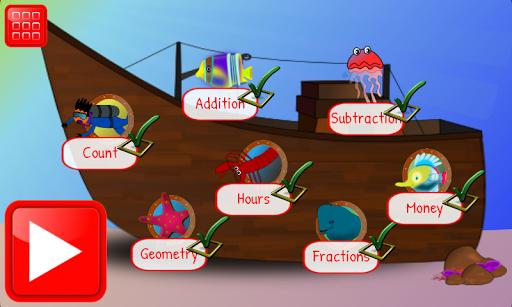 First Grade Math Learning Game APK screenshot 1