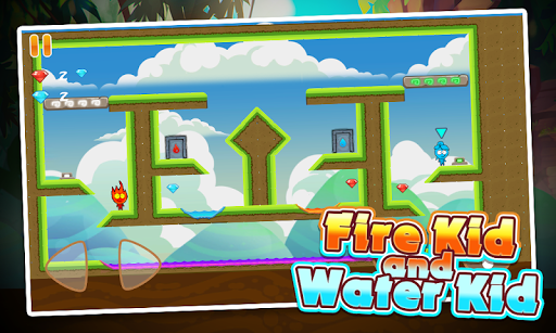 Fire Kid And Water Kid - Forever Love APK screenshot 1