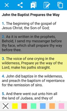 Holy Bible in English APK screenshot 1