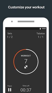 Tabata Timer APK screenshot 1