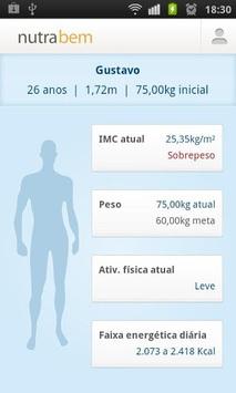 Nutrabem APK screenshot 1