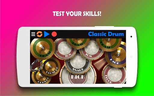 Classic Drum - The best way to learn drums! APK screenshot 1