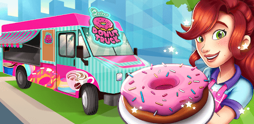 Boston Donut Truck - Fast Food Cooking Game pc screenshot