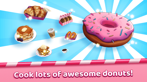 Boston Donut Truck - Fast Food Cooking Game APK screenshot 1