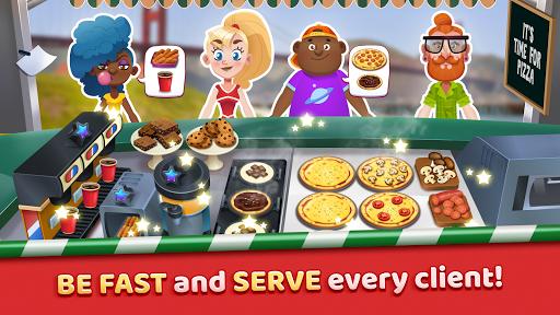 Pizza Truck California - Fast Food Cooking Game APK screenshot 1
