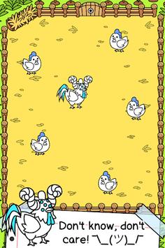 Chicken Evolution - 🐓 Mutant Poultry Farm Clicker APK screenshot 1