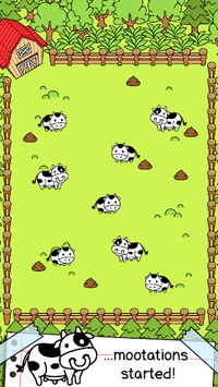 Cow Evolution - Crazy Cow Making Clicker Game APK screenshot 1