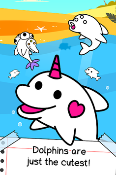 Dolphin Evolution - Mutant Porpoise Game APK screenshot 1