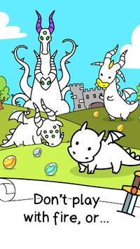 Dragon Evolution - Dragons Merge Clicker Game APK screenshot 1