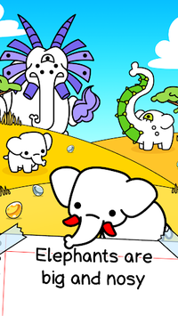 Elephant Evolution - Create Mammoth Mutants APK screenshot 1