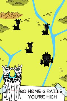 Giraffe Evolution - Mutant Giraffes Clicker Game APK screenshot 1