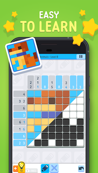 Logic Pic ✏️ -  Picture Cross & Nonogram Puzzle APK screenshot 1