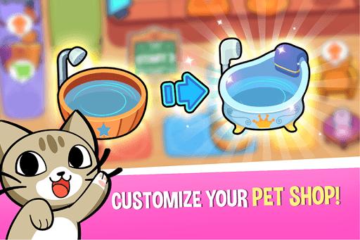 My Virtual Pet Shop - Cute Animal Care Game APK screenshot 1