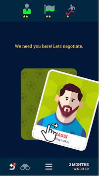 Soccer Kings - Football Team Manager Game APK screenshot 1