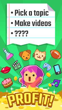 Vlogger Go Viral - Tuber Game APK screenshot 1