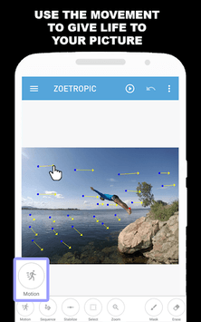 Zoetropic (free) - Photo in motion APK screenshot 1