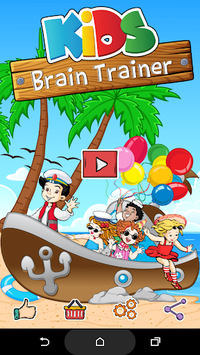 Kids Brain Trainer (Preschool) APK screenshot 1