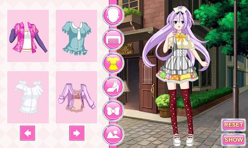 My Anime Manga Dress Up Game APK screenshot 1