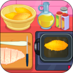 Cooking Fried Chicken Fingers icon