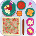 Cooking Pizza Roll icon
