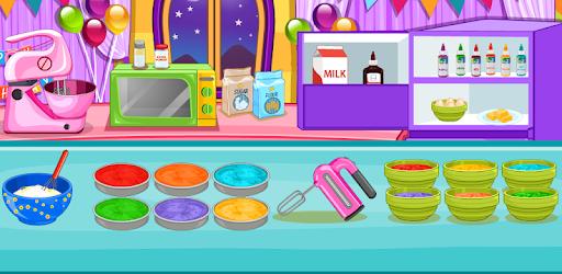 Cooking Rainbow Birthday Cake pc screenshot