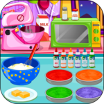 Cooking Rainbow Birthday Cake icon