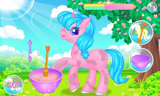 Pony Grooming Salon APK screenshot 1