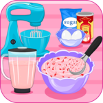 Strawberry Ice Cream Sandwich icon