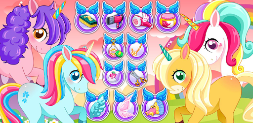 Unicorns Pet Salon pc screenshot