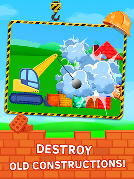 Construction Game Build with bricks APK screenshot 1