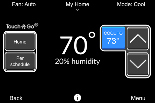Bryant® Housewise™ Thermostat APK screenshot 1