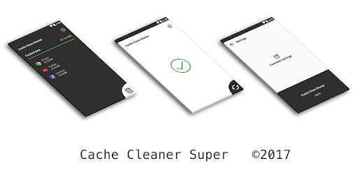 Cache Cleaner Super  clear cache & optimize pc screenshot