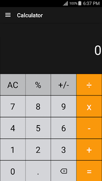 Calculator APK screenshot 1