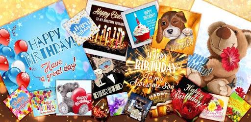 Birthday Cards Free App pc screenshot
