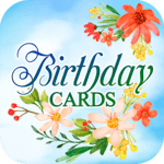 Birthday Cards Free App icon