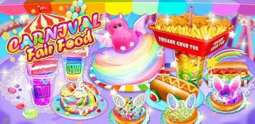 Unicorn Chef Carnival Fair Food: Games for Girls pc screenshot