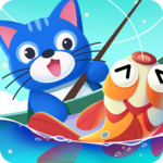 Hello! Fish: Cat Fisherman icon