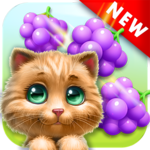 Cat Match Story: Fruit City icon