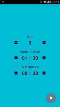 Interval Timer APK screenshot 1