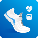 Pedometer, Step Counter & Weight Loss Tracker App APK icon