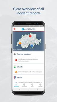 Alertswiss APK screenshot 1