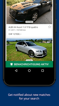 AutoScout24 Switzerland – Find your new car APK screenshot 1