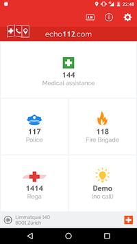 Echo112 - The Pocket Lifesaver APK screenshot 1