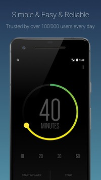 Sleep Timer (Turn music off) APK screenshot 1