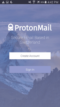 ProtonMail - Encrypted Email APK screenshot 1