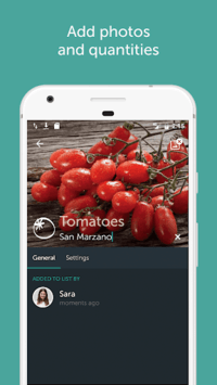 Bring! Grocery Shopping List APK screenshot 1