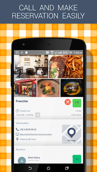 Best Restaurants APK screenshot 1